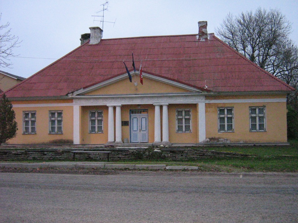 Vaade Jõelähtme postijaamale 2008. Ly Renter