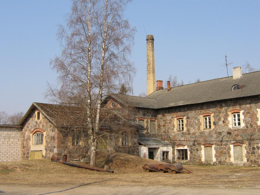 Jäneda mõisa viinavabrik 15041vaade kagust  Autor Anne Kaldam  Kuupäev  28.04.2006