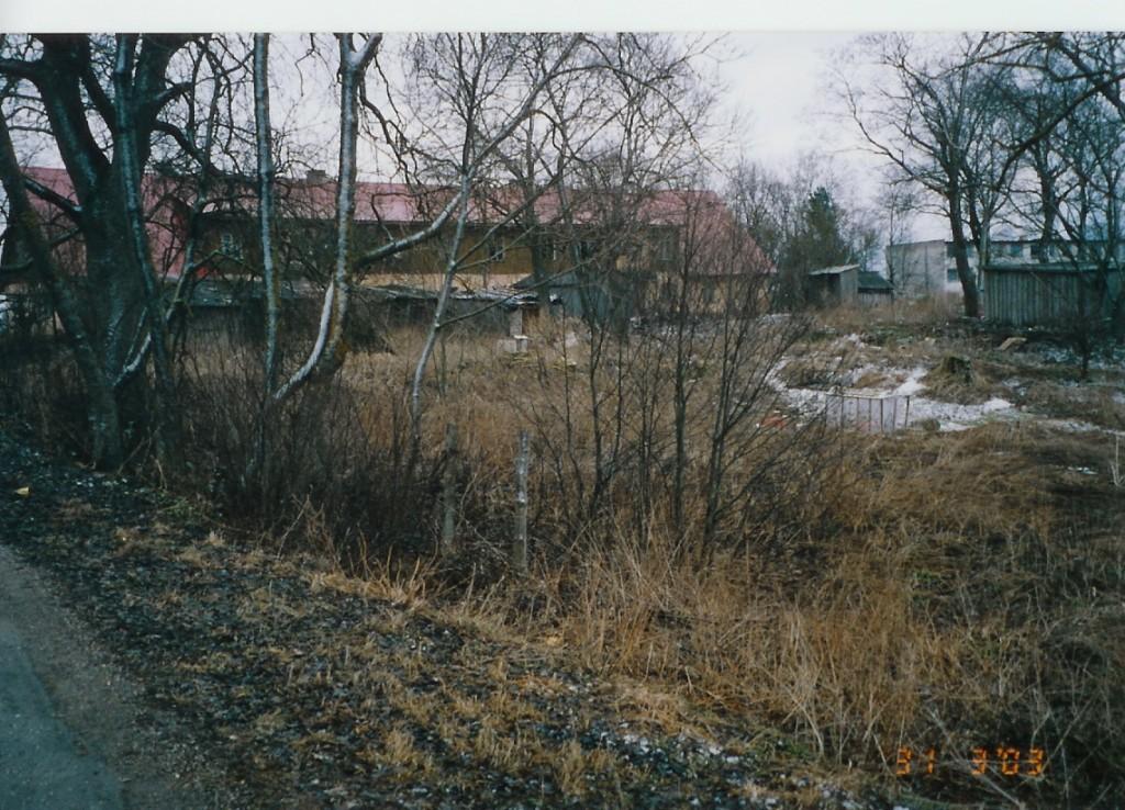 Kloostri maaala Penijõe tee poolt  Autor Kalli Pets  Kuupäev  31.03.2003