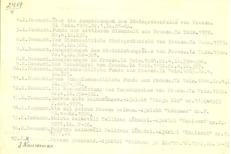 PASS 1985. K. Deemant. Leht 4-p