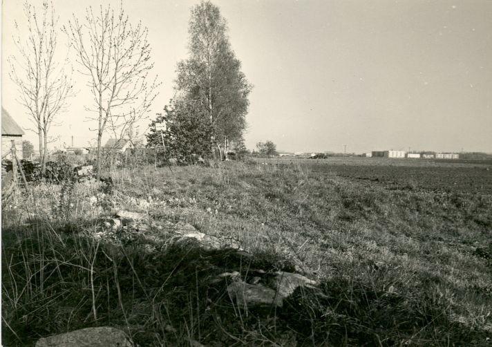 R. Kärner. 3.05.1990. Vaade mälestisele loodest