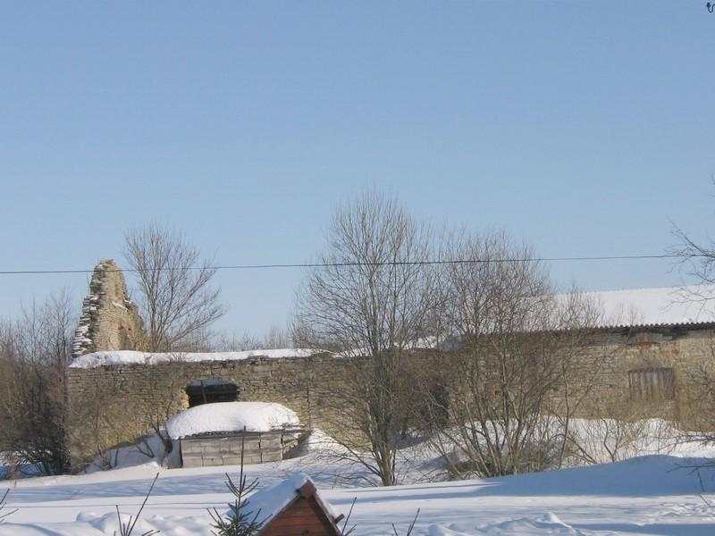 Vasta mõisa kuivati varemed, 16053, vaade läänest  autor: Anne Kaldam  aeg: 28.02.2011