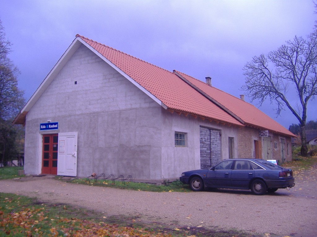 Kuusalu pastoraadi tall-tõllakuur  Autor Ly Renter  Kuupäev  23.11.2006