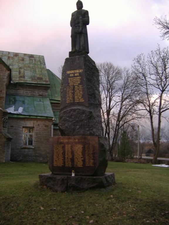 Vabadussõja mälestussammas Jüris  Autor Ly Renter  Kuupäev  15.11.2006
