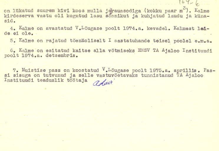 PASS 1975. V. Lõugas. Leht 1-p