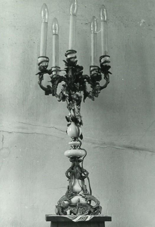 Laualühter viie tulega, 19. saj. (pronks) Paul Sorokini foto,1977(?)