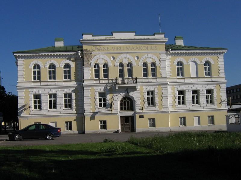 Rakvere uus kohtuhoone,15734, vaade põhjast,/taastatud pildid 11.04.11/   aeg: 08.06.2006  autor: Anne Kaldam