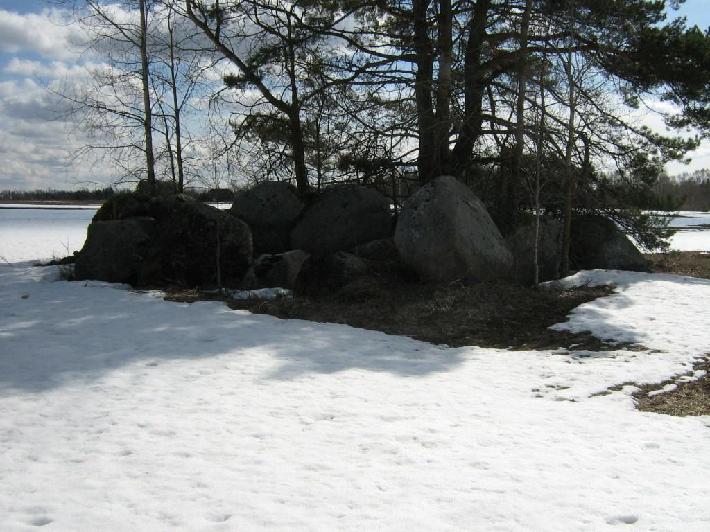 Lohukivi reg. nr 10859, 15.04.2011, Foto; Ingmar Noorlaid