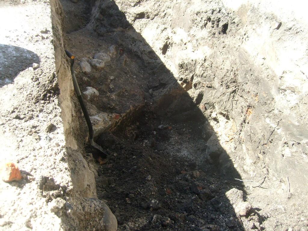 Linnamüüri lõik Vee ja Uue tn ristil Nele Rent 19.04.2011