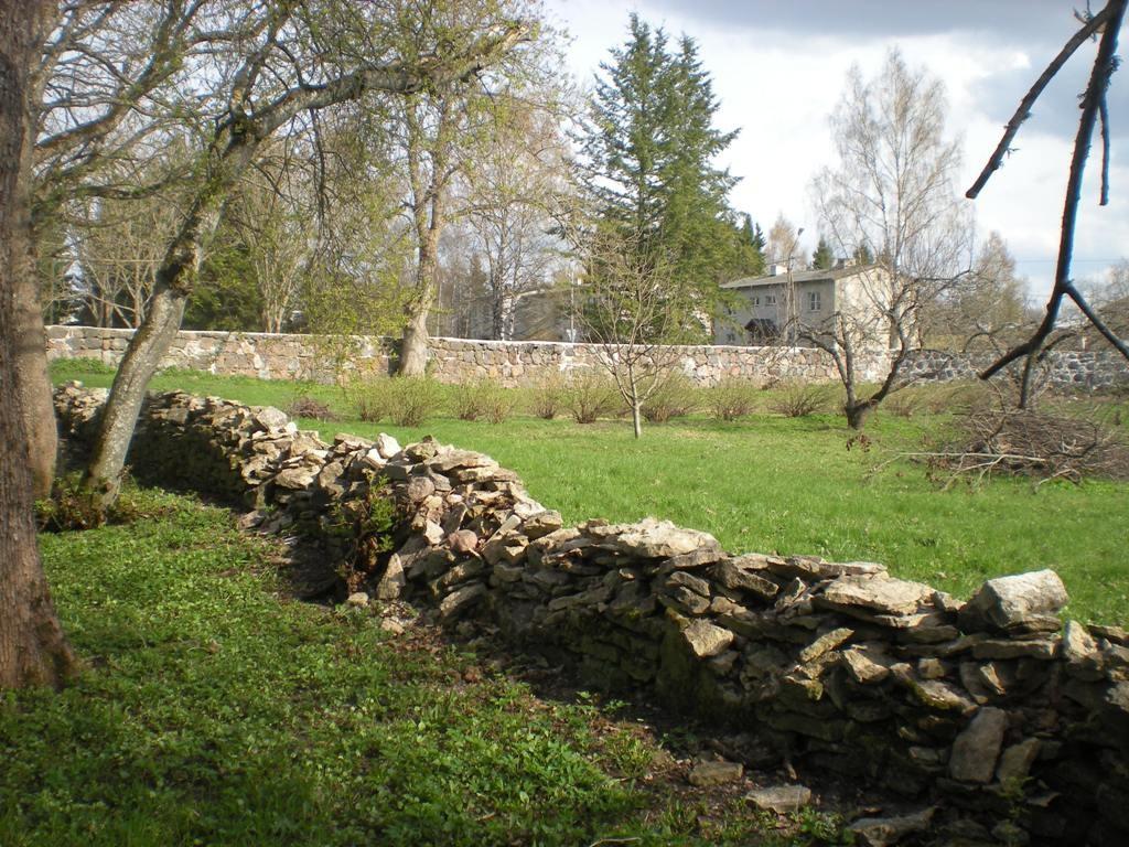 Piirdemüürid pargi ja tarbeaia vahel foto Riina Pau 06.05.2011