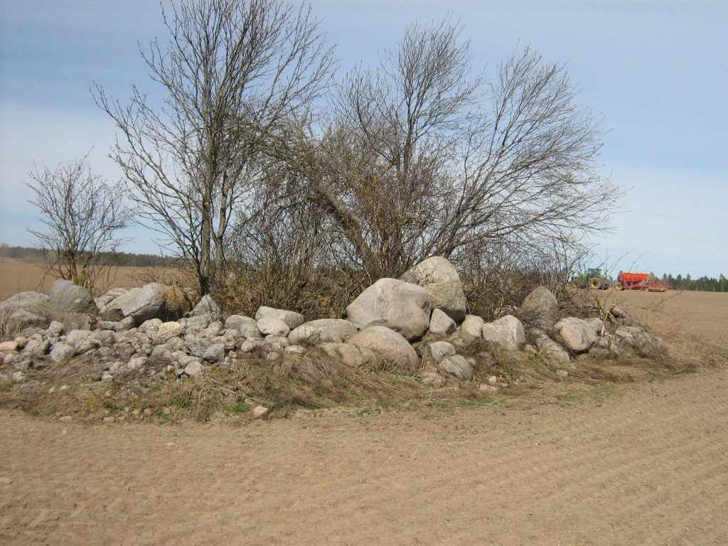 Kivikalme reg nr 10934. Foto: Ingmar Noorlaid, 28.04.2011.