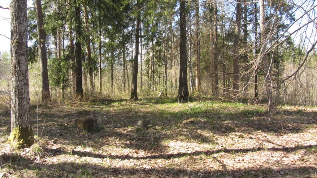 Vaade kalmistualale Nele Rent 28.04.2011