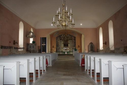 Paide kiriku interjöör. Foto: Sille Sombri; 09.07.2010
