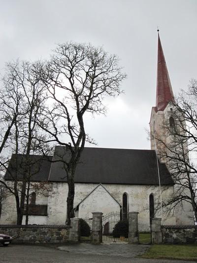 Järva-Peetri kirik. Foto: Sille Sombri; 27.11.2009