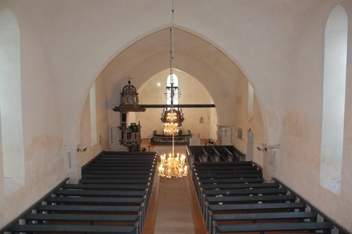 Järva-Jaani kirik.  Foto: Sille Sombri; 09.07.2010