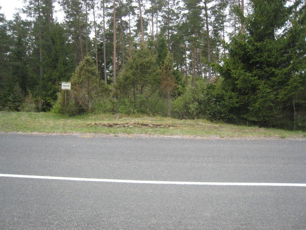 Kivikalme. Foto: Rita Peirumaa, 17.05.2011.