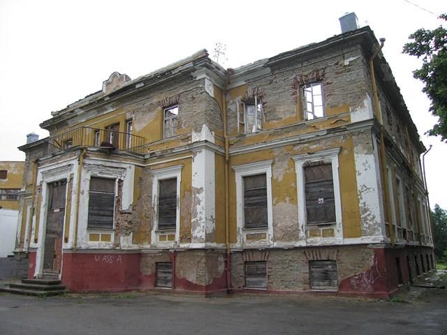 Muraste mõisa peahoone. Foto: Kadri Tael 19.06.2011