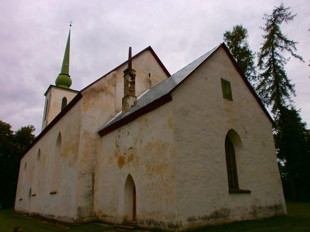 Vigala kirik. Foto: Kadri Tael 12.08.2011