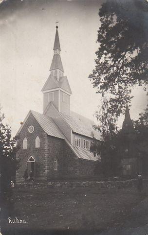 Ruhnu uus kirik. Foto: O. Esna kogust (Jakobson)