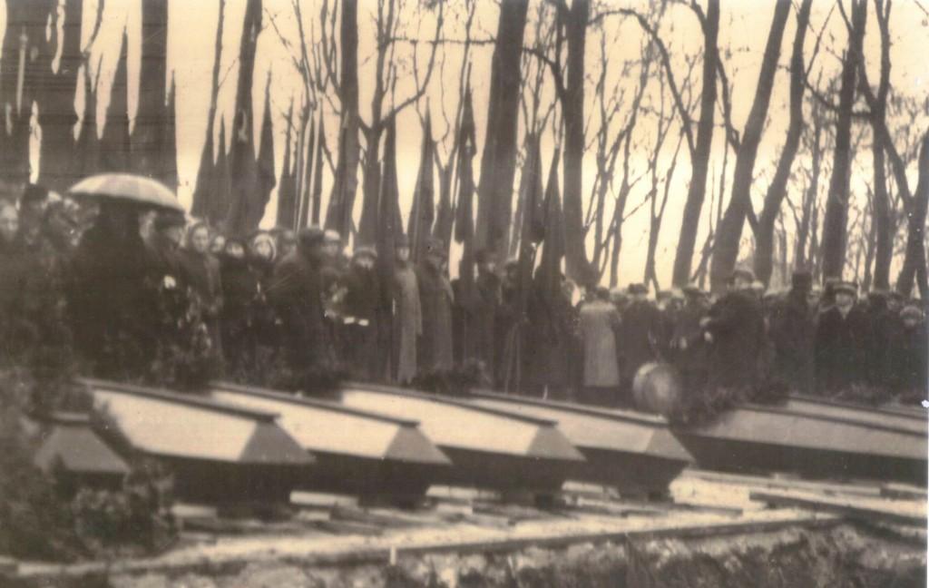 Ümbermatmine 25.11.1945. Foto: O. Esna erakogu