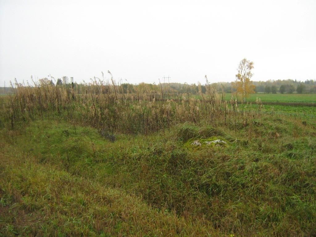 Kalmistu reg nr 9021, 12.10.2011, Foto: Ingmar Noorlaid