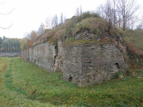 """Narva linnakindlustused (bastion """"Honor""""). Foto: Madis Tuuder. 25.10.2011"""