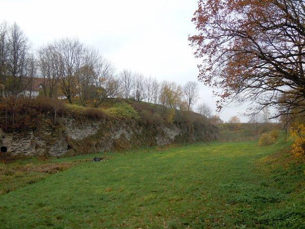 """Narva linnakindlustused (bastion """"Gloria""""). Foto: Madis Tuuder. 25.10.2011"""