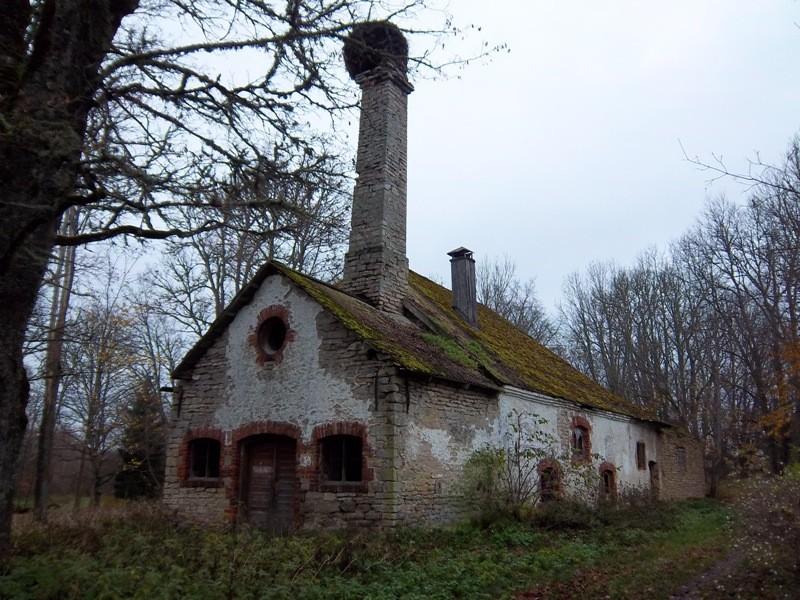 Maidla mõisa ait-kuivati. K. Klandorf 01.11.2011