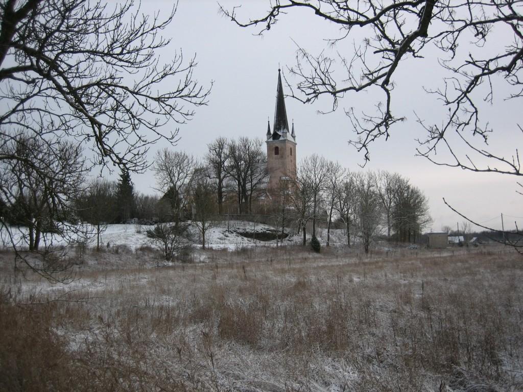 Vaade kirikule loodest  Autor S. Konsa  Kuupäev  12.01.2007
