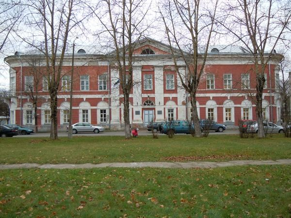 Narva gümnaasiumi hoone. Foto: Madis Tuuder. 09.11.2011