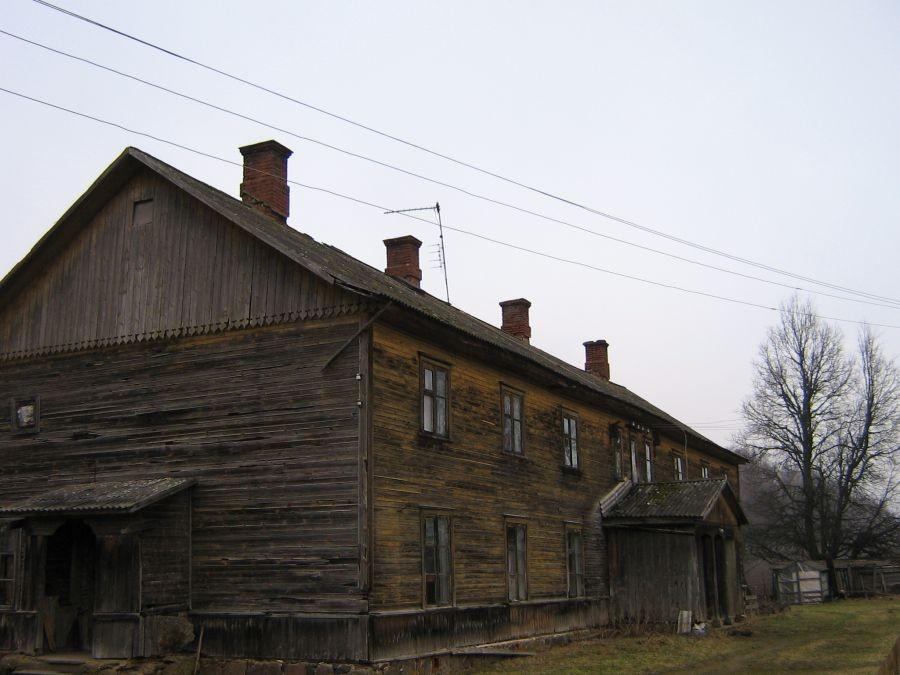Vaade Õisu moonakatemajale tagant  Autor A. Kivi  Kuupäev  21.03.2007