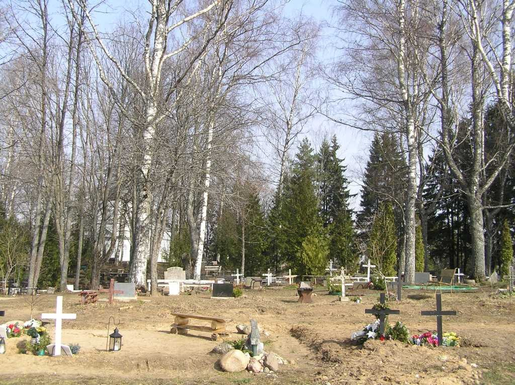 Luhamaa kalmistu  Autor Martti Veldi  Kuupäev  22.03.2007
