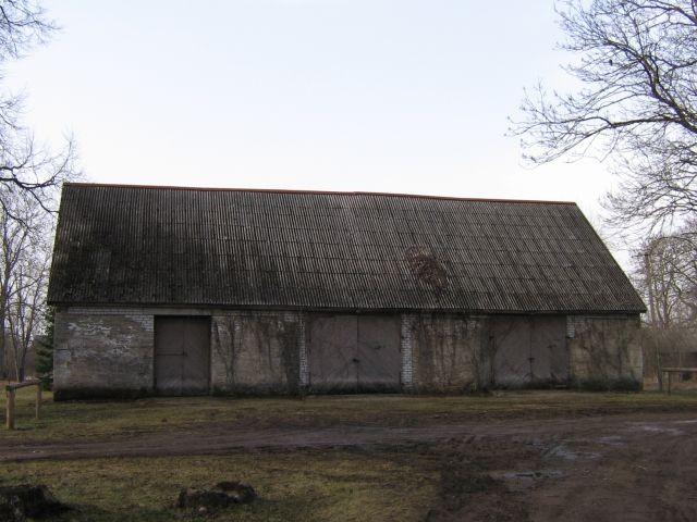 Viru-Nigula pastoraadi tõllakuur.nr.16064 vaade idast  Autor Anne Kaldam  Kuupäev  23.03.2007