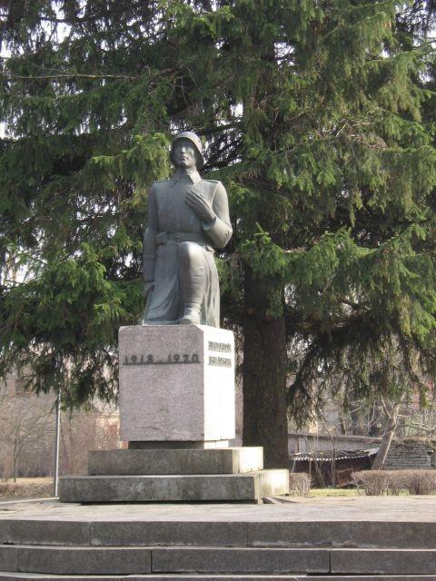 Vabadussõja mälestussammas, reg. nr 27131. Vaade läänest. Foto: Anne Kaldam, kuupäev  23.03.2007