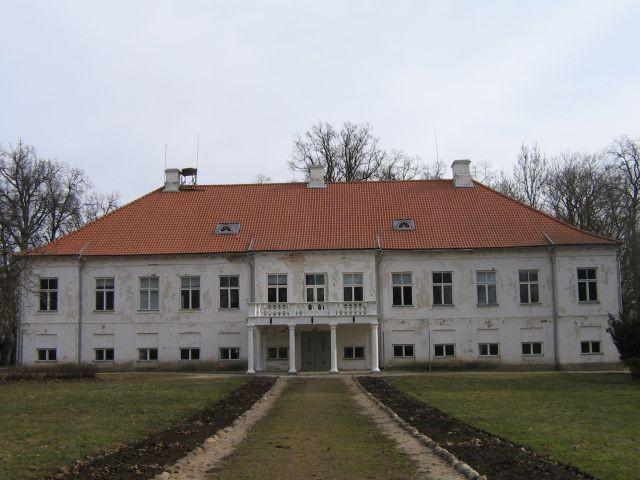 Vasta mõisa peahoone nr. 16043vaade  läänest  Autor Anne Kaldam  Kuupäev  23.03.2007