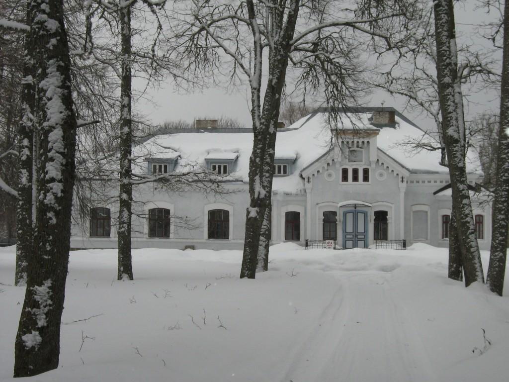 Kiviloo mõisa peahoone talvel  2010 Ly Renter