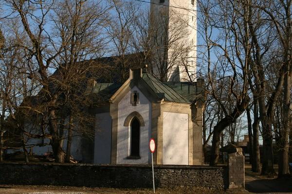 Haljala kirikuaia kabel 1 ,nr.15649vaade põhjast  Autor Anne Kaldam  Kuupäev  23.03.2007