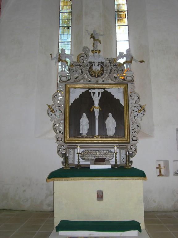 Altar. Foto: Kais Matteus 2009