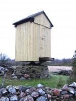 Pukktuulik katuse ja seinalaudise remondi järgselt. Foto: M.Koppel 2011 november.