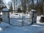 Kalmistu värav. Foto Silja Konsa 08.03.2012