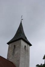 Noarootsi kiriku torn. Foto: Kais Matteus 14.06.2011
