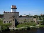 Narva Hermanni linnus. Vaade idast. Foto: Madis Tuuder. 01.07.2012.