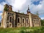 Kuri õigeusu kiriku varemed, vaade edelast Autor Maarika Leis-Aste Kuupäev 16.07.2012
