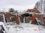 Vana-Saaluse mõisa ait-kuivati, 19 saj. II pool 2002. aastal.