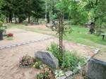 Tüüpiline hauaplatsi kujundus. Foto Silja Konsa, 23.08.2012