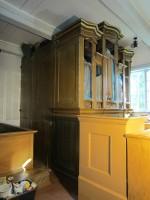 16069 Käsmu kabel, vaade seest, käivad restaureerimistööd. 04.09.2012 Anne Kaldam