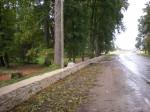 Sargvere mõisa pargi piirdemüür Tiit Schvede 21.09.2012
