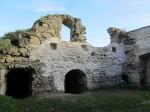 15951 Toolse linnuse varemed ,konserveerimistööd 2012.vaade konserveeritud müüriosale.  Anne Kaldam 09.10.2012