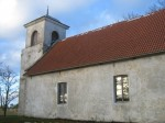 Jaani kirik kagu suunalt. Foto: Rita Peirumaa, 31.10.2012