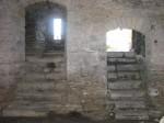 vaade Maasi ordulinnuse ruumidest. Foto: Rita Peirumaa, 31.10.2012